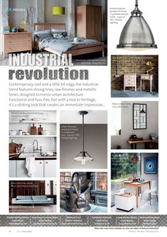 ~ Industrial revolution ~ #locallife #Petersfield #Hampshire #interiors #home #decor #winter #industrial #ontrend