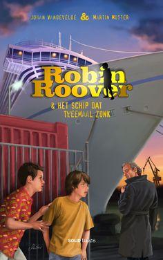 Robin Roover & het schip dat tweemaal zonk (Johan Vandevelde & Martin Muster) - Illustratie: Martin Muster (Solid Tales / De Scriptomanen - 2016)