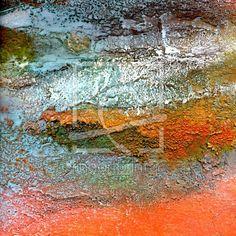 Vergangenheit und Wiederkehr12 Acrylmalerei,Spachteltechnik