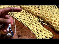 crochet Chain MeshTop part3 - YouTube