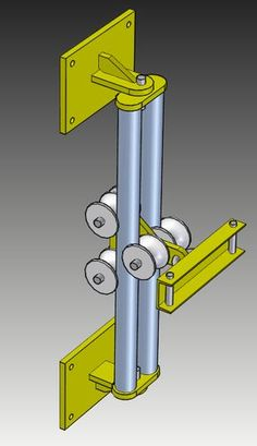 Mechanical Design, Mechanical Engineering, Metal Projects, Welding Projects, Homemade Tools, Diy Tools, Elevator Design, 3d Cnc, 3d Cad Models