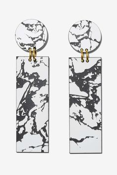I Still Love You NYC Marbleized Drop Earrings | Shop Accessories at Nasty Gal