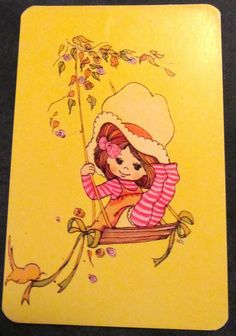 Plain Back 1970'S Cute Children LEE 1 Playing Swap Cards A158 | eBay