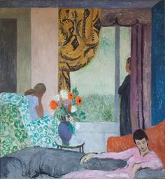 Vanessa Bell (UK 1879-1961) The Other Room (late 1930s)  Vanessa Bell was a member of the Bloomsburry Group and the sister of Virginia Woolf.