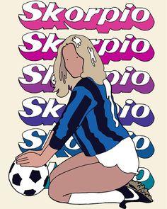 S K O R P I O  #illustration #drawing #sexy #soccer #skorpio #magazine #80s #ファッション #art #minimal #colours #popart #inter #ローマ #アート #ミニマル #ヴィンテージ  #イタリア #ポルノ #セクシー #アレッシオ #alessiovitelli #calcio
