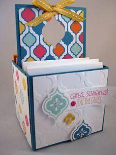 3x3 Card Box