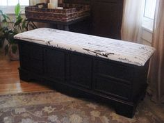 Lane Cedar Chest painted