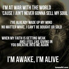 Skillet--Awake and Alive