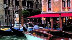 Venice Italy at Night Relaxing Video
