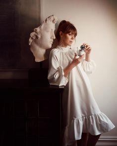 Paula Markert (@paulamarkert) • Instagram photos and videos Girls Dresses, Flower Girl Dresses, White Dress, Wedding Dresses, Flowers, Fashion, Dresses Of Girls, Bride Dresses, Moda