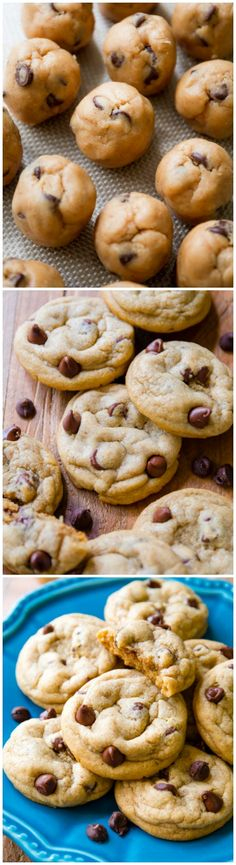 Biscoff Chocolate Chip Cookies.