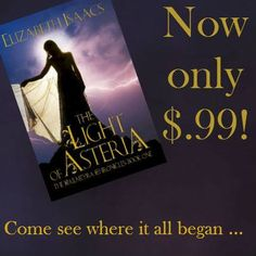 The Light of Asteria, the first in the Kailmeyra series, now only $0.99! #iBooks