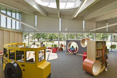 Columbus Metropolitan Library - Whitehall | Architect Magazine | Jonathan Barnes Architects, Columbus, Ohio, Institutional, AIA/ALA Library Building Award 2017, Institutional Projects