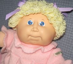 Little Cabbage Patch Girl by asterdaisy on Etsy, $16.00