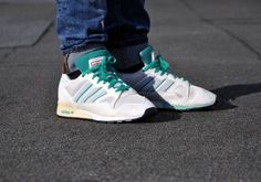 Adidas ZX 710 White Vapour Neo White Fresh Green b6 540x379