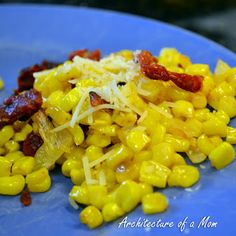 Architecture of a Mom: Mediterranean Roasted Corn