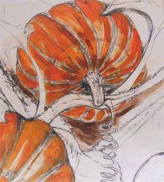 Natasha Clutterbuck - Pumpkin Mural