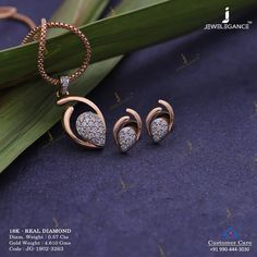 Diamonds to add glitters in your personality. Get in touch with us on Gold Jewelry Simple, Gold Rings Jewelry, Stylish Jewelry, Jewelry Design Earrings, Gold Earrings Designs, Gold Earrings For Women, Gold Ring Designs, Indian Jewelry Sets, Pendant Set