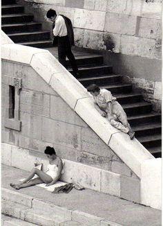 SE DÉTENDRE / SE REPOSER / PRENDRE UN BAIN DE SOLEIL... Paul Almásy, el fotógrafo de la felicidad cotidiana