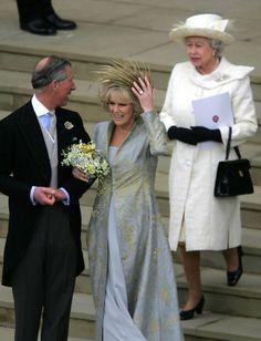 prince charles and camilla wedding Camilla Parker Bowles, Royal Wedding Gowns, Royal Weddings, Charles X, Camilla Duchess Of Cornwall, Royal Uk, Royal Tiaras, Royal Brides, Prince Of Wales
