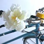 D.I.Y. Bicycle Handlebar Flower