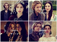 #Reign - Mary and Francis