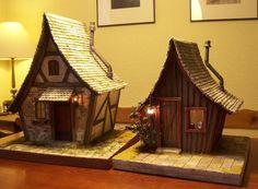 Miniature houses by Karin Caspar.