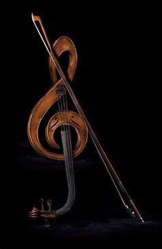 Treble clef violin