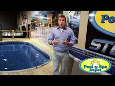 Pool & Spa Depot has designed an exclusive semi-in ground pool that has the benefits of an in ground pool without the price tag. Fiberglass Swimming Pools, My Pool, Swimming Pools Backyard, Pool Spa, Best Above Ground Pool, In Ground Pools, Above Ground Pool Landscaping, Backyard Landscaping, Semi Inground Pools
