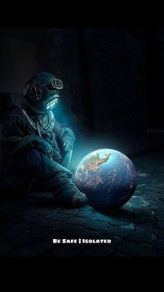 Quarantine Corona Wallpaper by TalencioJamaic - 42 - Free on ZEDGE™ Outer Space Wallpaper, Wallpaper Earth, Dark Wallpaper, Galaxy Wallpaper, Space Drawings, Space Artwork, Astronaut Wallpaper, Space And Astronomy, Galaxy Art