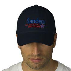 Bernie Sanders For President 2016 Embroidery