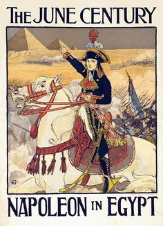 Buy online, view images and see past prices for Poster by Eugène Grasset - The June Century, Napoleon in Egypt. Invaluable is the world's largest marketplace for art, antiques, and collectibles. Eugene Grasset, Napoleon Josephine, Illustration Art Nouveau, Art Nouveau Design, Art Database, Napoleonic Wars, Illustrations, Art And Architecture, Beautiful Gardens