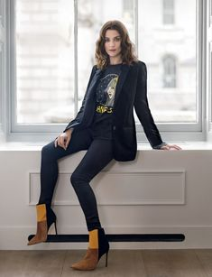 "anothercelebrityblog: "" Rachel Weisz – Vogue Magazine UK January 2016 """