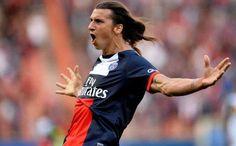 Zlatan Ibrahimovic - But contre Guingamp au parc des Princes 2013