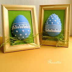 Modré velikonoce -  dekorace Easter Eggs, Easter Stuff, Holiday, Inspiration, Eggs, Easter Activities, Biblical Inspiration, Vacations, Holidays