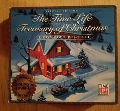 TREASURY OF CHRISTMAS - V/A - 3 CD - IMPORT - **EXCELLENT CONDITION** - RARE