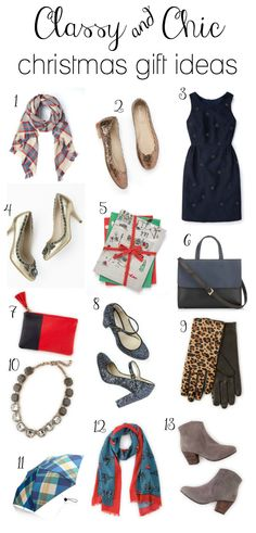 Classy & Chic Christmas Gift Ideas feat @bodenclothing! #spon