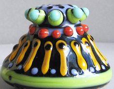 Zuma PodHandmade Lampwork Glass Bead by beadygirlbeads on Etsy, $25.00