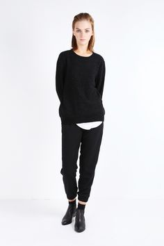 OAK + FORT Sweater 7090-CWWCC2 Black