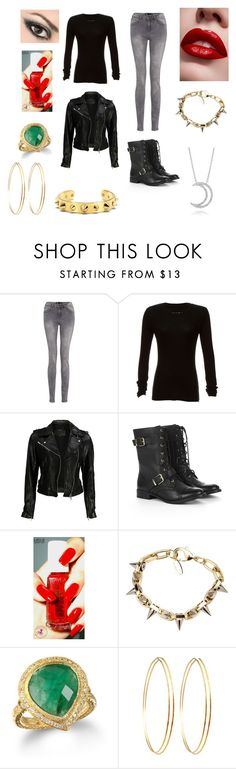 """""""Badass Madison"""" by endlessbelieving ❤ liked on Polyvore featuring rag & bone, VIPARO, Sole Society, Layla Cosmetics, Joomi Lim, C. Wonder, Jules Smith and A. Link"""