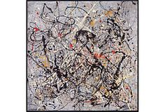 Jackson Pollock, Number 18, 1950, Framed