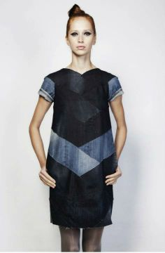 Reet Aus, Estonian fashion designer uses post-production waste cloth in her designs