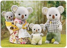 Calico Critters Outback Koala Family Set for sale online Toys R Us, Kids Toys, Sylvania Families, Calico Critters Families, Rosalie, Family Set, Baby Wearing, Educational Toys, Teddy Bear