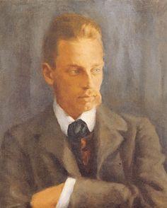 Rainer Maria Rilke. Portrait von Helmut Westhoff