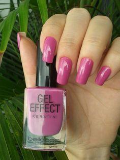 Unhas feitas com Gel Effect Bellaoggi! Visite nossa Loja Online.