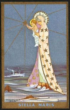 Stella Maris (Star of the Sea) love this image and think this would be a beautiful girls name!