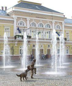 Cityhall - Szolnok. Hungary.