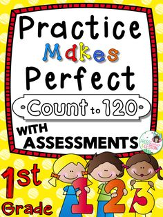 Number Lines, Hundreds Charts, Objects, Word Problems, and Assessments! A comprehensive, well organized resource that you will use throughout the school year. The pages get progressively more difficult so you can differentiate instruction. No fluff, printer friendly, no prep!