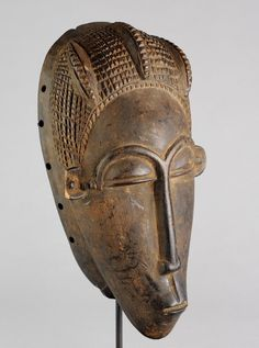 Masque Baoule Côte d'Ivoire - Modigliani style  -Ivory Coast Baule Mask World art African Tribal Art Africain Gallery