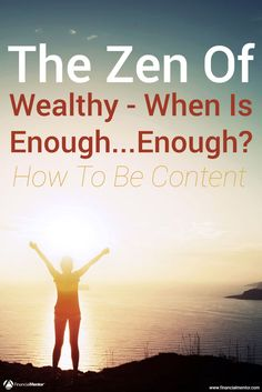 How much wealth is enough? When does more money equal less freedom and happiness? Discover how to find your personal sweet spot for becoming wealthy. Financial Literacy, Financial Tips, Financial Planning, Wealth Management, Money Management, Investment Advice, Retirement Planning, How To Get Rich, Make More Money
